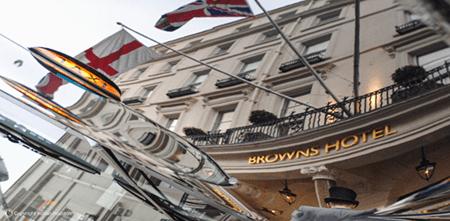 Adrian Houston london luxury photographer- Browns Hotel