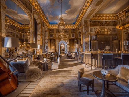 Adrian Houston london luxury photographer- Hotel De Crillon Paris Bar