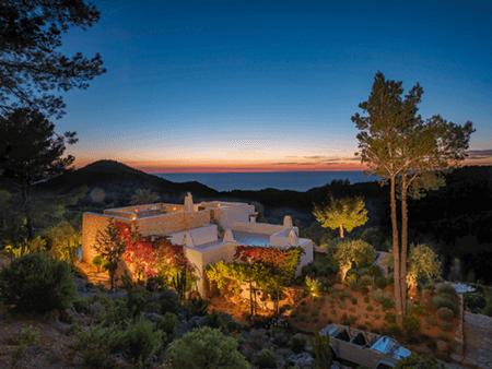 Adrian Houston london luxury photographer- Ibiza Luxury House