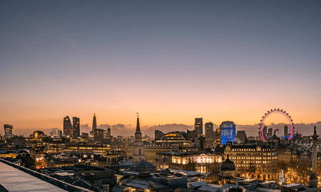 Adrian Houston london luxury photographer- Londoner Sun Rise
