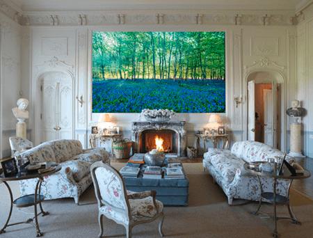 Adrian Houston london luxury photographer- Tyringham Hall Artwork