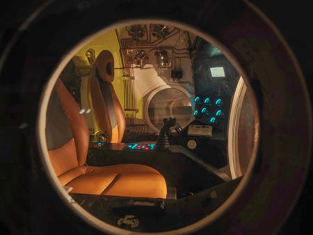 Adrian Houston london luxury photographer- Submarine Porthole