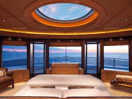 Adrian Houston london luxury photographer- Bedroom View