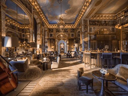 Adrian Houston london luxury photographer- Rosewood Paris Bar
