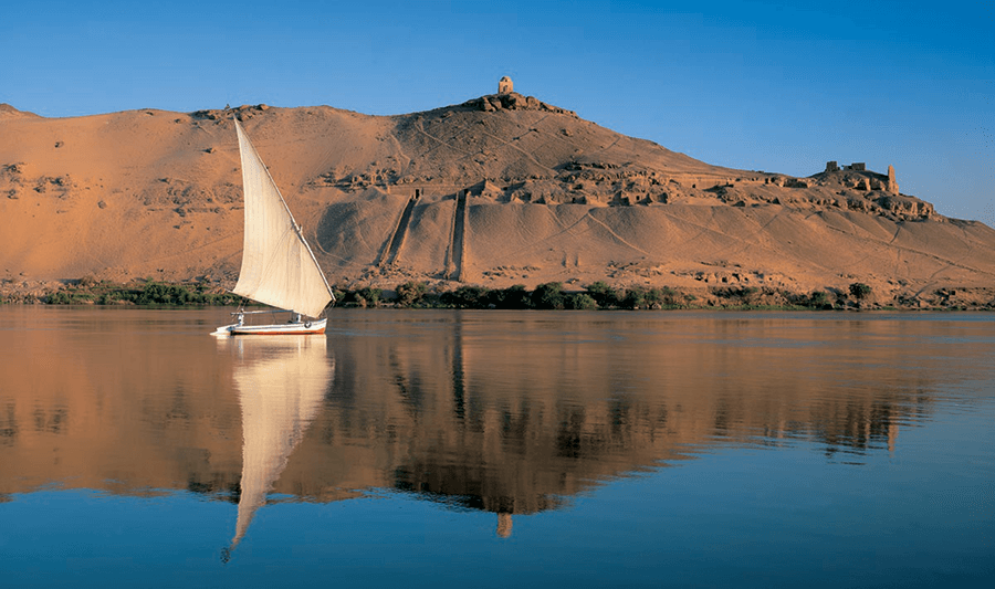 Luxury Fine Photography - Nile in Aswan Eygpt by Photographer Adrian Houston