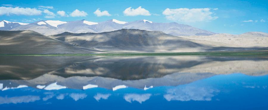 Luxury Fine Photography - Lake Kar near Kadhak Kashmir by Photographer Adrian Houston