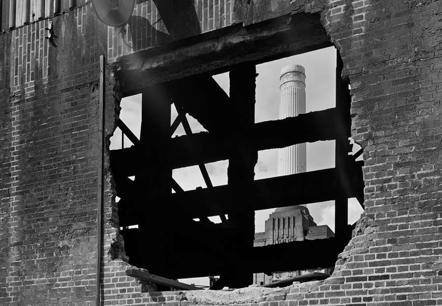 Adrian Houston london luxury photographer- Battersea through the wall Royal Academy Summer Exhibition